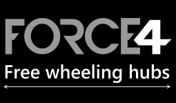 Force4 Free wheeling hubs